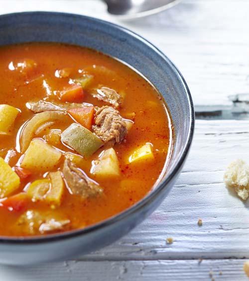 tomatensoep met soepvlees