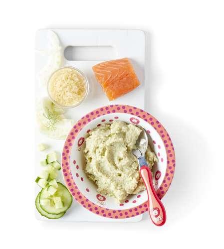 Portion Riz Par Personne : riz au saumon au fenouil et au concombre colruyt ~ Nature-et-papiers.com Idées de Décoration