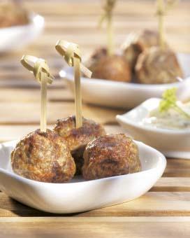 recept kruidige gehaktballetjes