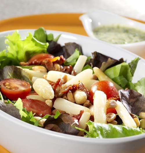 Salade d'asperges à la vinaigrette