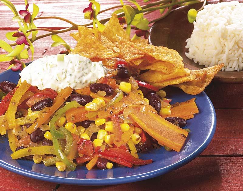 Mexicaanse wokschotel