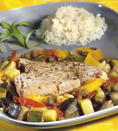 Cassolette de poisson à l'italienne