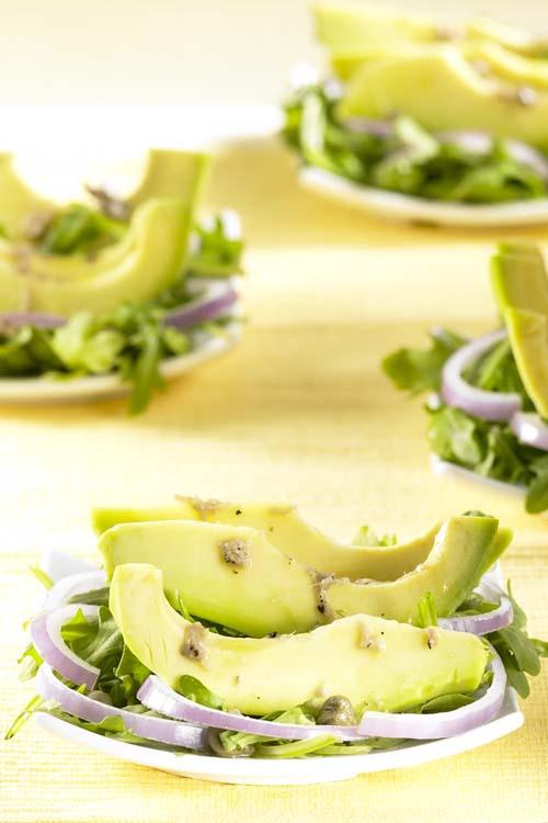Avocado met ansjovismarinade