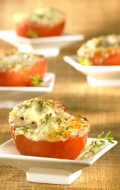 Tomaat met gorgonzola