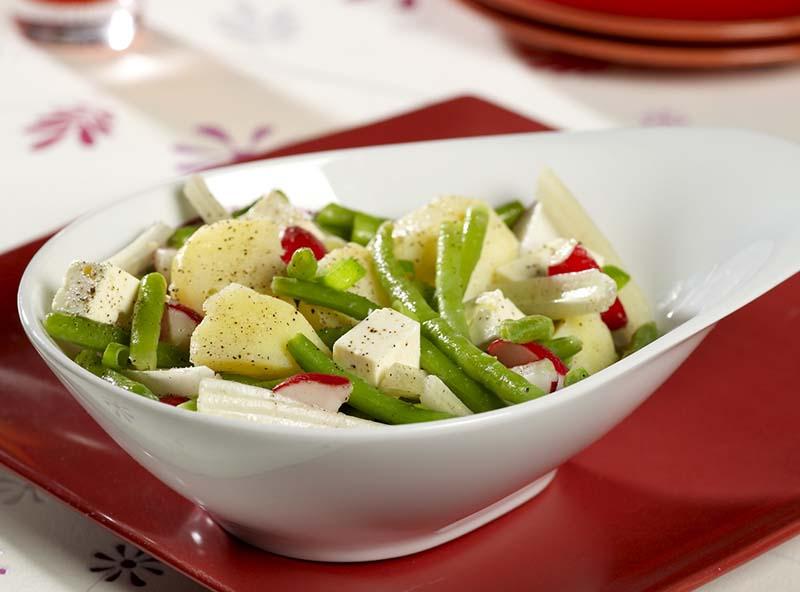 Salade de pomme de terre au fromage