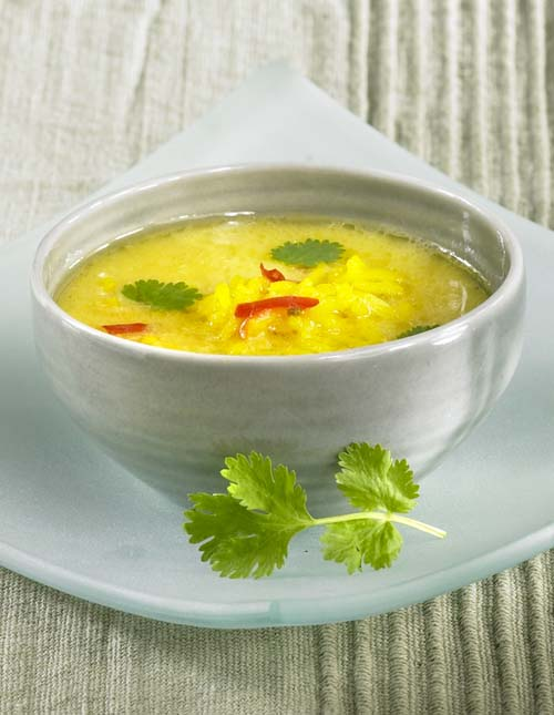 Soupe aux légumes délicieusement exotique