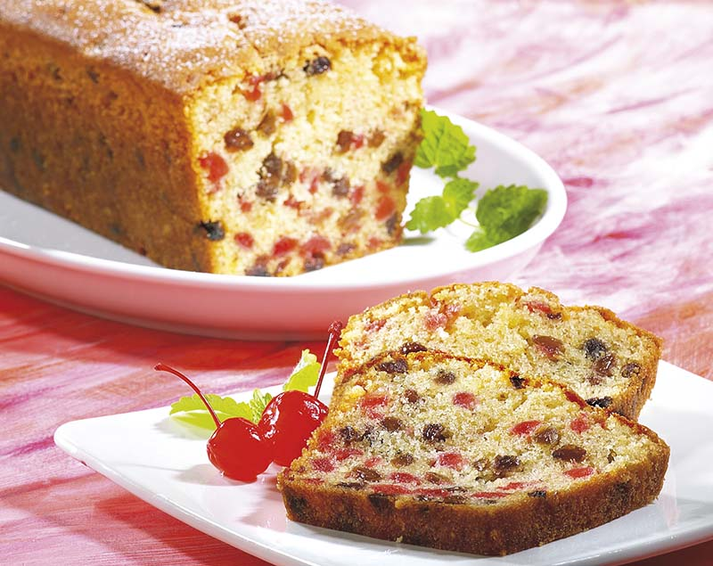 Engelse fruitcake