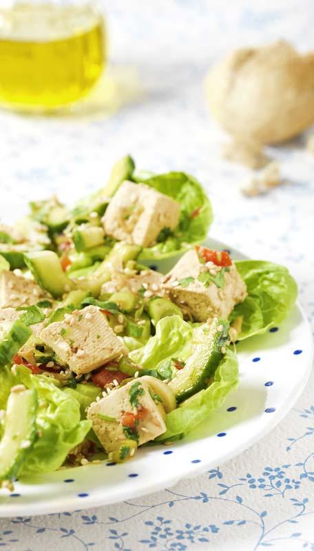Krokante oosterse salade