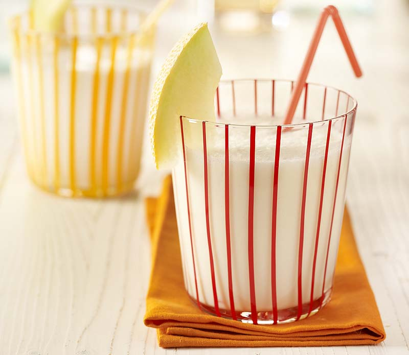 Milk-shake au melon