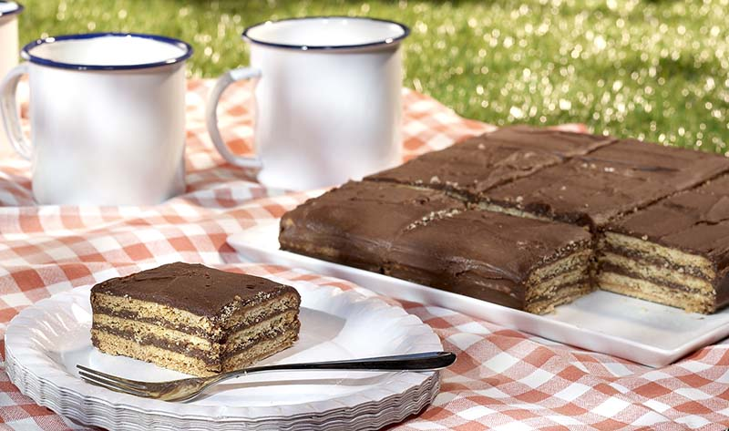 g teau de petits beurre au caf et au chocolat colruyt. Black Bedroom Furniture Sets. Home Design Ideas