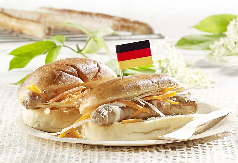 Hot-dogs allemands