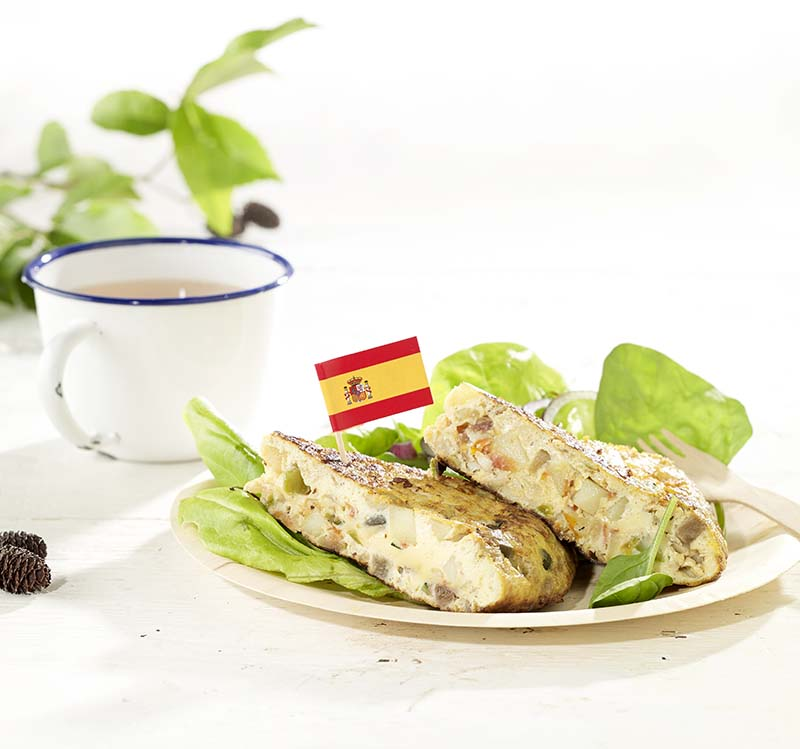 Tortilla uit Malaga