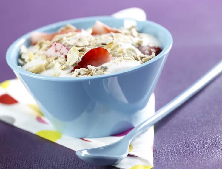 Muesli fruité au yaourt