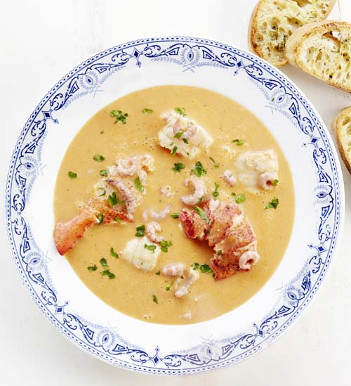 Bouillabaisse au homard