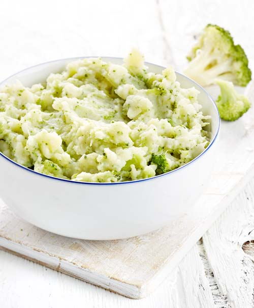 Purée au brocoli