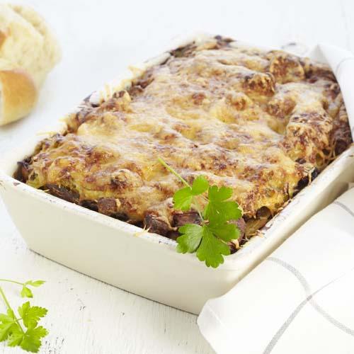 Lasagne met veggiereepjes en smeuïge groentesaus