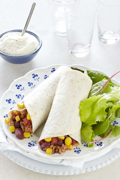 Enchilada mexicaine