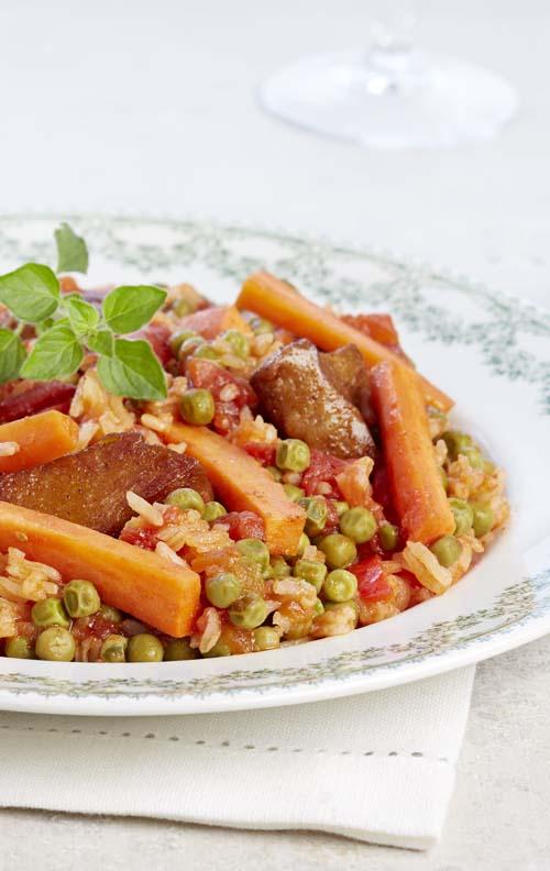 Paella Veggie and Spicy