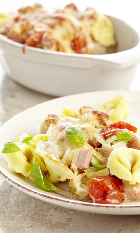 Tortellinis aux trois fromages
