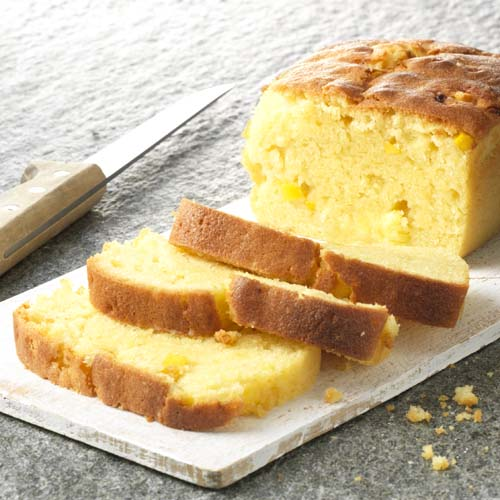 Cake à l'ananas et à la mangue