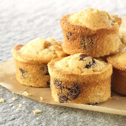 Chocolade-banaanmuffins