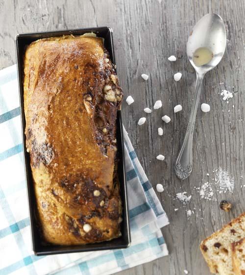 Suiker-rozijnenbrood