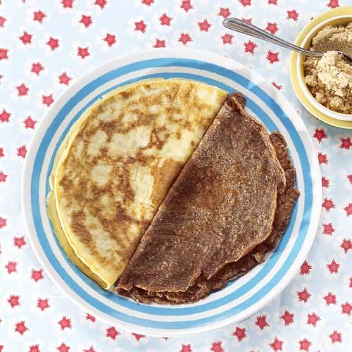 Gluten- en lactosevrije pannenkoeken