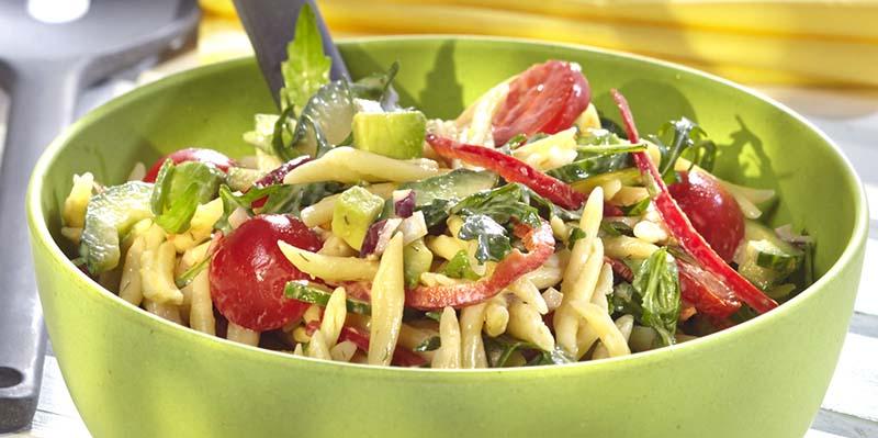recept pastasalade barbecue