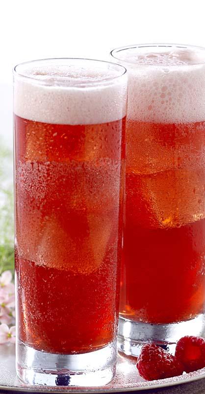 Cocktail fruité à la bière