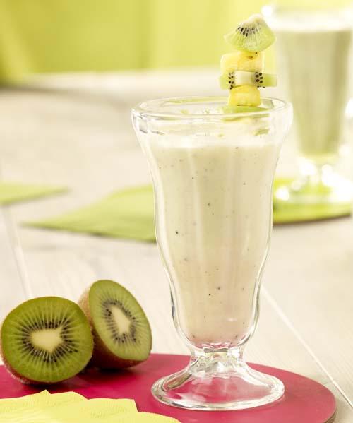 Yaourt-shake à l'ananas